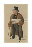 Richard D'Oyly Carte Giclee Print by Leslie Matthew Ward