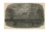 Fireworks at the Merchant Seamen's Orphan Asylum Giclee Print