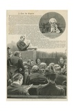 A Case for Experts: Sketches in the Royal Courts of Justice; with a Vignette of Mr Justice Kay Giclee Print by Robert Barnes