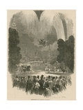 Fireworks Display at Vauxhall Gardens, London Giclee Print