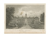 People in the Grounds of Morden College Giclee Print by Thomas Mann Baynes