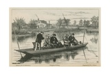 Gudgeon Fishing Giclee Print by Henry Robert Robertson