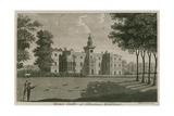 Bruce Castle, Tottenham, London Giclee Print by T. Prattent