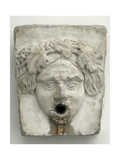 Marble Fountain Pipe. Dionysiac Mask Giclee Print