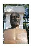 Euripides (480-406). Bust Contemporary of Euripides. Athens. Central Greece Giclee Print