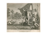 Regatta Ball at Ranelagh Gardens, Millbank, London, 23 June 1775 Giclee Print by Giovanni Battista Cipriani