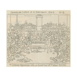 Manners and Customs of the English in 1849: the Commons Resolved into a Committee of the Whole… Giclee Print by Richard Doyle
