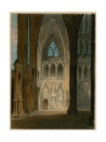 Spooner's Protean Views: Poet's Corner, Westminster Abbey, London, Changing to the Shades of… Giclee Print