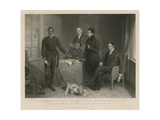 Giving Evidence before the Committee of the House of Commons Giclee Print by Henry Room