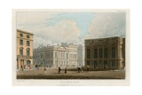 Pall Mall East, London Giclee Print by Augustus Charles Pugin