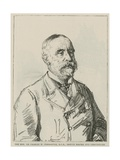 The Honourable Sir Charles W Freemantle, Kcb, Deputy Master and Comptroller of the Royal Mint Giclee Print by Charles Paul Renouard