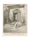 Water Gate, New Palace Yard, Westminster Palace Giclee Print by John Thomas Smith