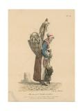Marchande De Volaille Et De Gibier Giclee Print by Carle Vernet