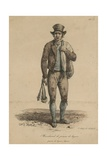 Marchand De Peaux De Lapin Giclee Print by Carle Vernet
