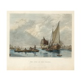 The Pool of the Thames Giclee Print by Sir Augustus Wall Callcott