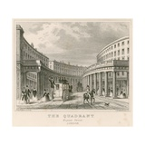 The Quadrant, Regent Street, London Giclee Print by Thomas Hosmer Shepherd