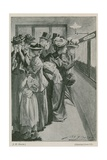 The Casualty List at the War Office Giclee Print by John Henry Frederick Bacon