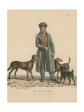 Marchand De Chiens Giclee Print by Carle Vernet