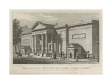 The Russell Institution, Great Coram Street, London Giclee Print by Thomas Hosmer Shepherd