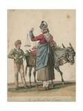 La March De De Cerises Giclee Print by Carle Vernet