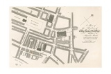 Plan of the Theatres of Covent Garden, London Giclee Print