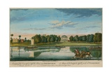 A View of the Countess of Suffolk's House Near Twickenham Giclee Print