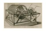Chime Machine at St Giles's Church, Cripplegate, London Giclee Print