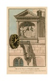 Part of the Church of St Dunstan in the West; St Dunstan's Church, Fleet Street, London Giclee Print