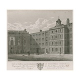 View of Part of the Quadrangle of Bridewell Hospital Giclee Print by Thomas Hosmer Shepherd