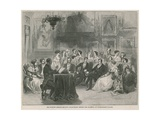 Mr Charles Kemble Reading Shakespeare Giclee Print
