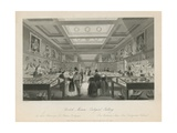 Zoological Room at the British Museum Giclee Print by Llewellyn Jewitt