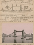 In Commemoration of the Opening of the Tower Bridge Photographic Print