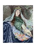 Elizabeth of Hungary, (1207-1231) Giclee Print