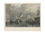 Port of London Giclee Print by Samuel Bough