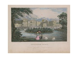 General View of Buckingham Palace Giclee Print by Nathaniel Whittock