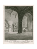 Church of St Helen, Bishopsgate Street, London Giclee Print by Frederick Nash