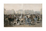 Old Smithfield Market Giclee Print by Jacques-Laurent Agasse