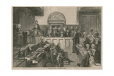 The Court for Divorce and Matrimonial Causes Giclee Print
