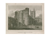 St Saviour's Church, Southwark, Surrey Giclee Print by Frederick Nash