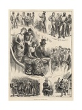 The End of the Cricket Season Giclee Print by Harry Furniss