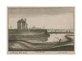 The Water House, Islington Giclee Print by Wenceslaus Hollar