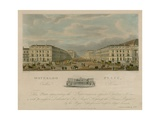 Waterloo Place, Carlton House, London Giclee Print by Augustus Charles Pugin