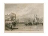 Greenwich, London Giclee Print by Sir Augustus Wall Callcott