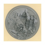 Blitz Medallion Giclee Print by Peter Jackson