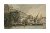 Water Gate, York Buildings, London Giclee Print by Daniel Turner