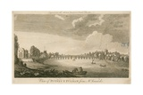 View of Putney and Fulham from Mr Vanneck's Giclee Print