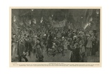 Ladysmith Day in Pall Mall Giclee Print by Frederic De Haenen