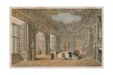 The Gilt Room, Holland House Giclee Print by Charles James Richardson
