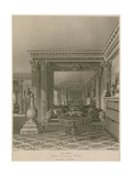 The Alcove, Golden Drawing Room, Carlton House, London Giclee Print by Charles Wild