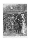 The Fancy Dress Ball at Covent Garden Giclee Print by Arthur Hopkins